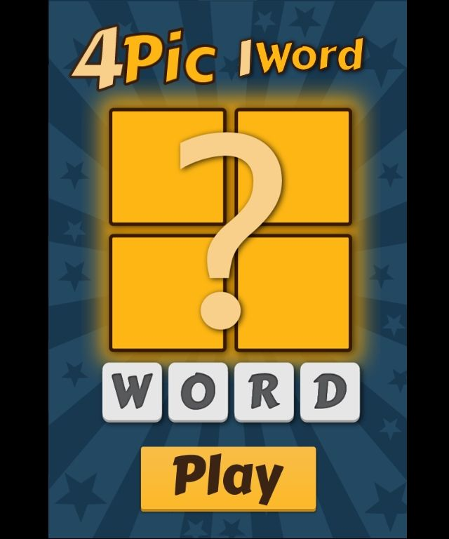 4 Pictures 1 Word Construct 2 Word Guessing Game Guessing Games Words Games