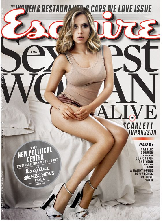 scarlett for esquire, oct2013. sexiest woman alive!