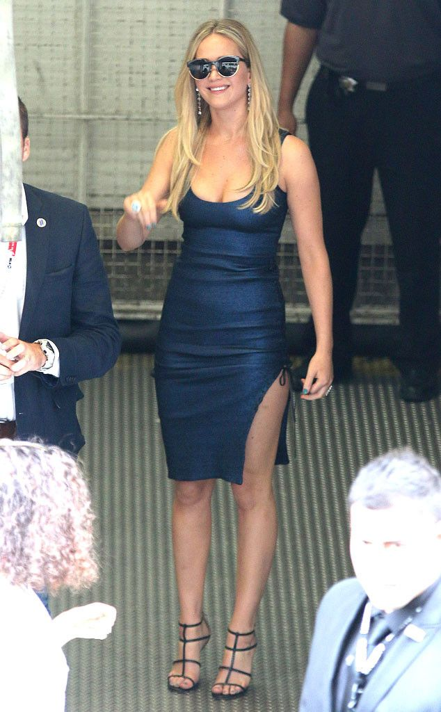 The only word to describe Jennifer Lawrence's #SDCC look: FLAWLESS.