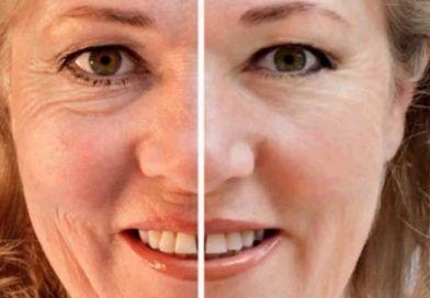 3 Gesichtsmasken, die Fältchen weg schummeln