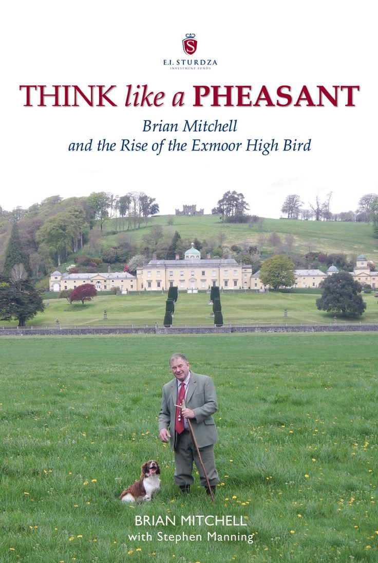Think Like a Pheasant by Brian Mitchell with Stephen Manning | Quiller Publishing. A fascinating book on the life of Brian Mitchell and his philosophies towards #gamekeeing and #countryside #management. #country #books #pheasant #exmoor #high #bird #shooting #estate