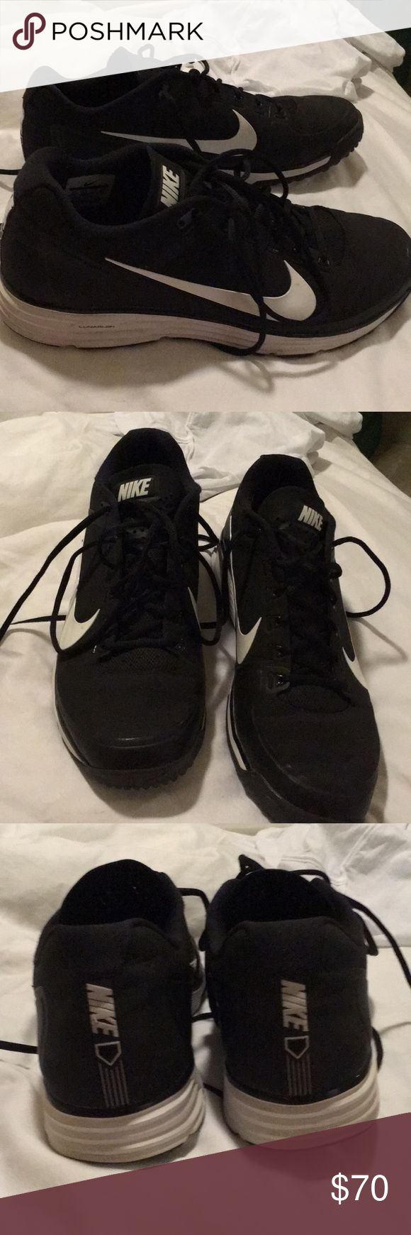 Nike athletic turf shoes Black athletic turf shoes great shoes for cross training or sport activities. Worn 4-5 times in like new condition Nike Shoes Athletic Shoes