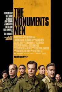 "My review of The Monuments Men – here's an excerpt: ""A less rambunctious hybrid of Raiders of the Lost Art, Inglourious Basterds, National Treasure, and Clooney's own Ocean's 11 trilogy, The Monuments Men is b-movie silliness disguised as a 'based on true events' prestige picture. And there's nothing wrong with that.""  Read the rest at the link: http://reelroyreviews.com/2014/02/16/the-u-s-army-might-not-care-about-art-but-they-sure-as-sht-care-about-gold-the-monuments-men/"