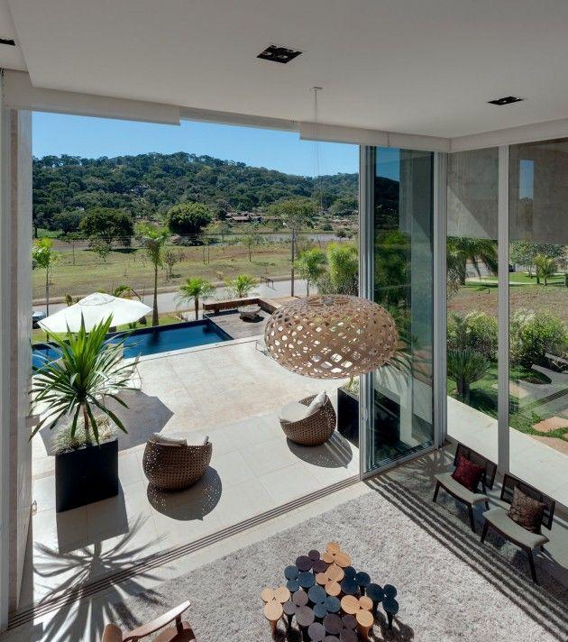 Dayala+Rafael Arquitetura Have Designed A Single Family Home In Aldeia Do  Vale, Brazil · Dream HomesModern Interior DesignModern ...