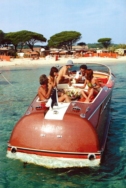 Vintage Boat Party