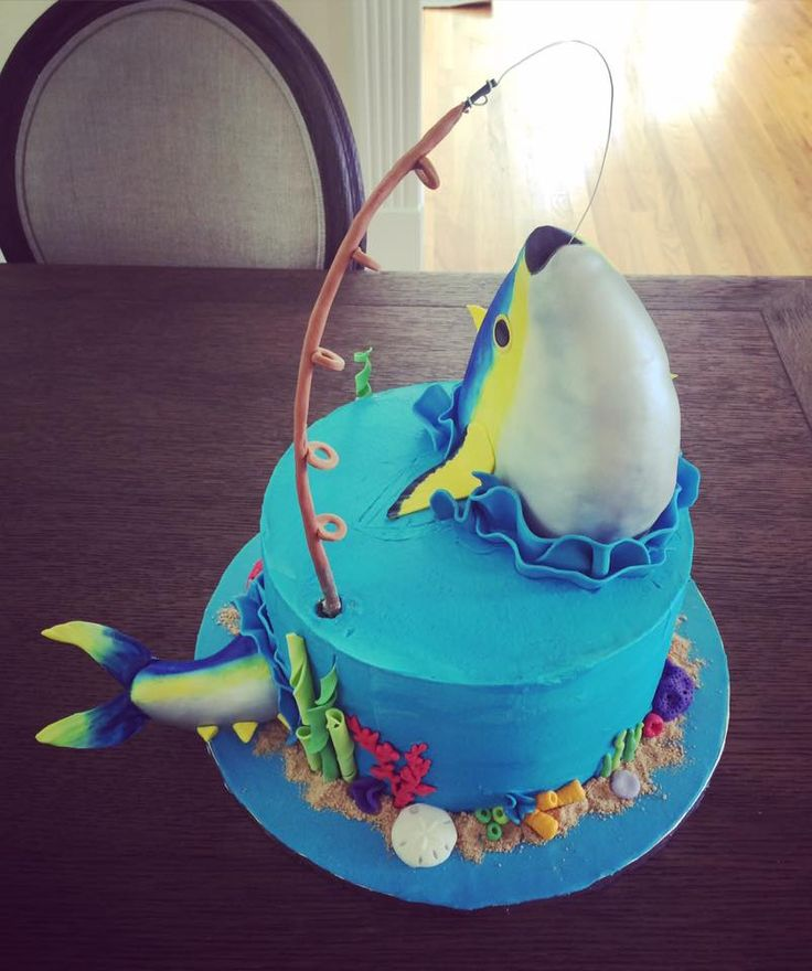 Yellowfin Tuna Fishing Cake By Sweetsbysindy Cake