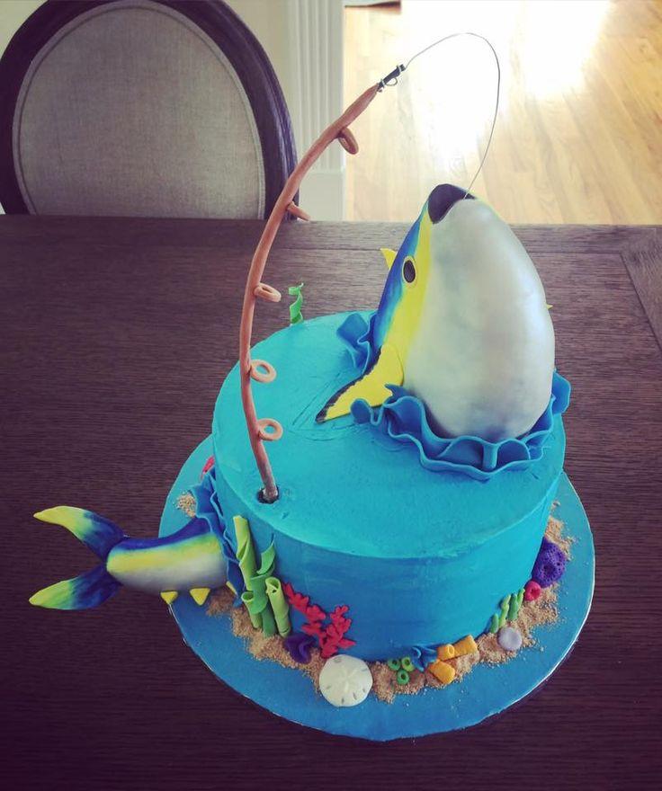 Yellowfin Tuna Fishing Cake By Sweetsbysindy Cake