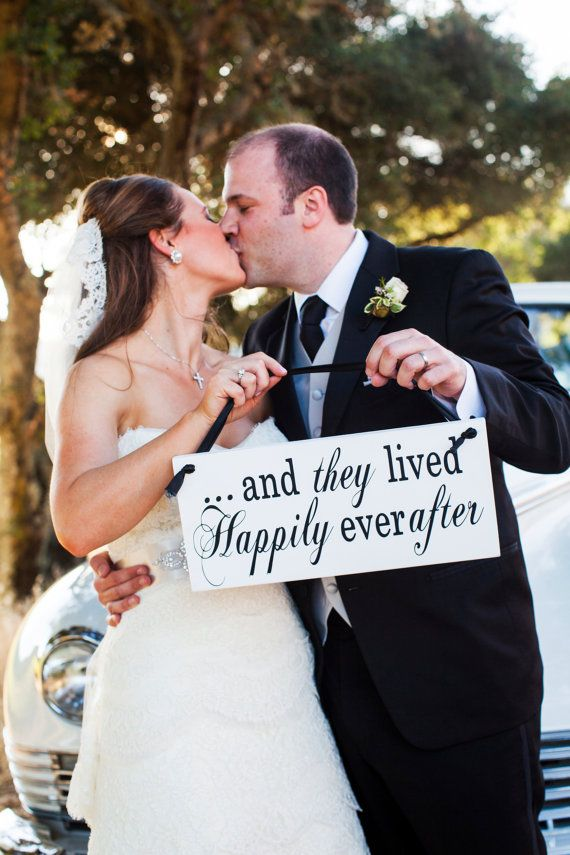 ring bearer sign double sided wedding sign and they lived happily ever after ring bearer sign with here comes the bride our classic here comes the - Wedding Ring Bearer
