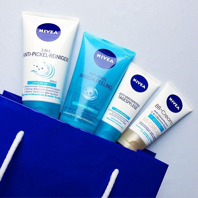 A pure pleasure: Our new #NIVEA products for impure skin!