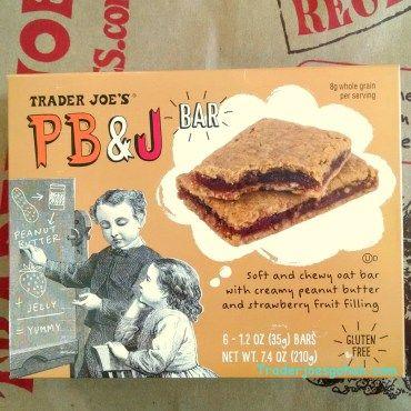 Trader Joe's PB&J Bar 6Bars $2.69 トレーダージョーズ ピーナッツバターとジェリー シリアルバー  #traderjoes #pb&bar #peanutbutter #cereal #glutenfree #トレーダージョーズ| #ピーナッツバター #グルテンフリー #シリアルバー