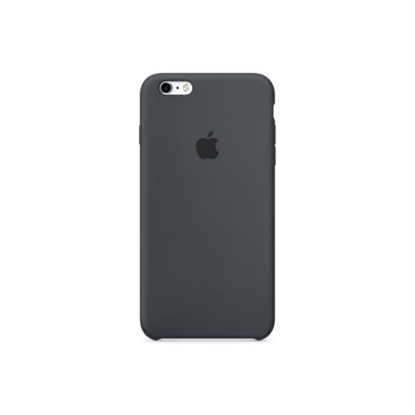 Coque en silicone pour iPhone 6s - Gris anthracite | Apple coque ...