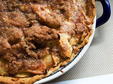 Sour Cream Apple Pie - This is a keeper!  The sour cream does the trick and adds an extra added layer of flavor.  You're gonna love this pie!