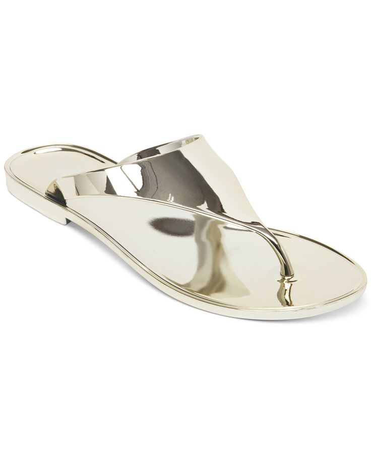 BCBGeneration Starr Flat Thong Sandals - Shoes - Macy's