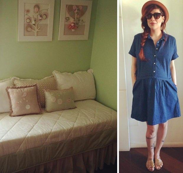 Pitty revela o quarto da filha Madalena (Foto: Reprodução/Instagram)