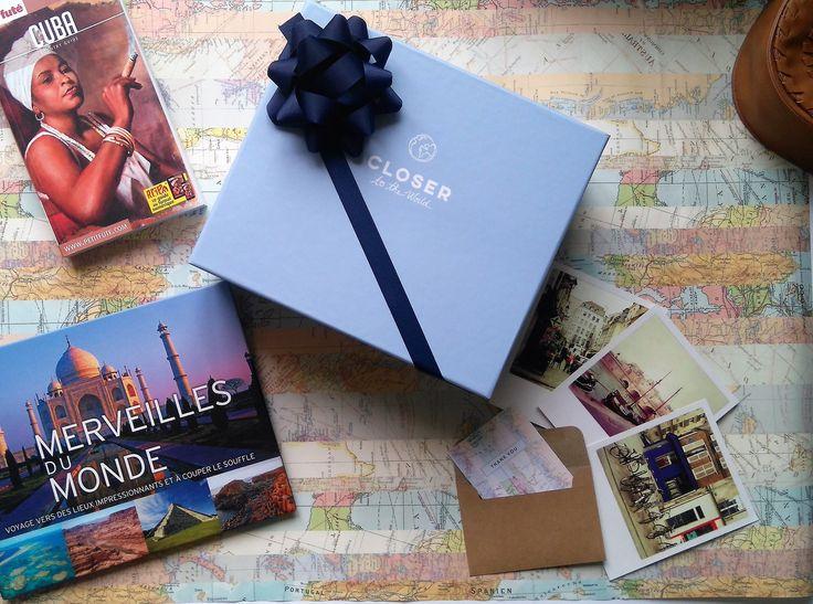 Closer To the world est une box gastronomie qui fait voyager, elle permet la découverte des produits gourmets à travers le monde