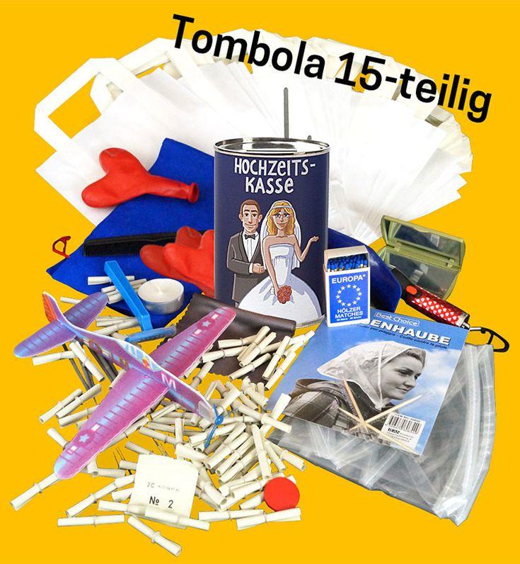 Hochzeitsspiele - Tombola - Lose und Preise