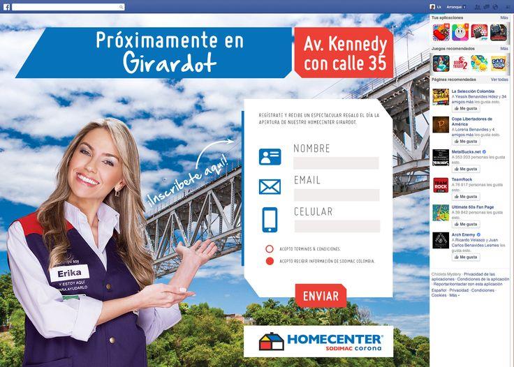 Tab Facebook - Homecenter Girardot  https://www.facebook.com/homecentercolombia/app_720069068105641
