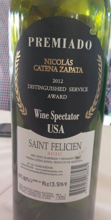 Excelencia como la mayoría de los vinos de esta bodega