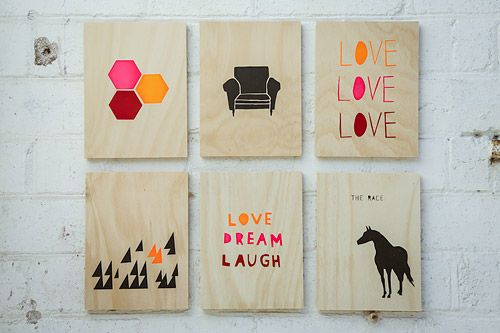 ply wall art tiles