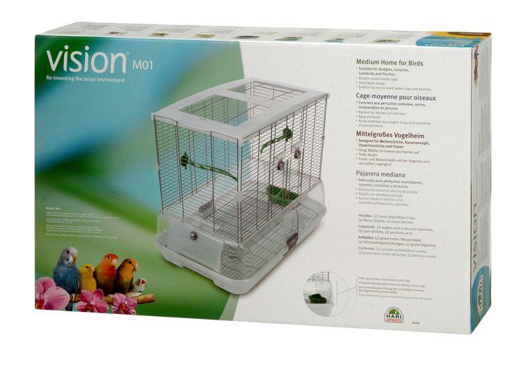 Single Vision Bird Cage with Small Wire