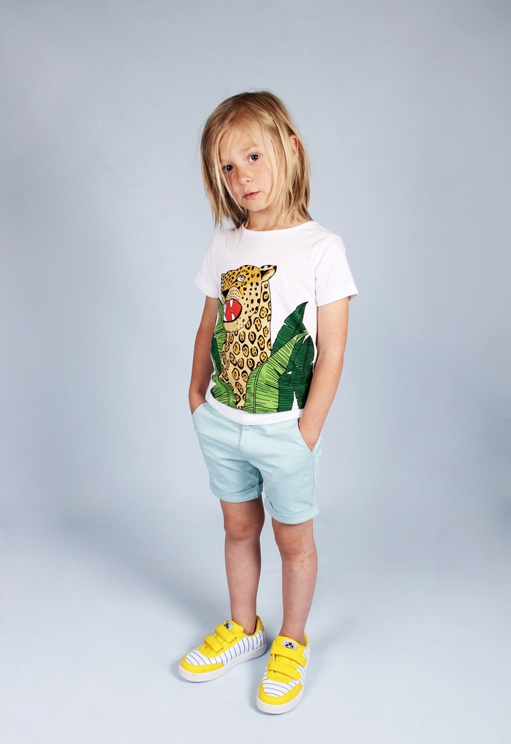 I love this Jaguar tee from Mini Rodini!