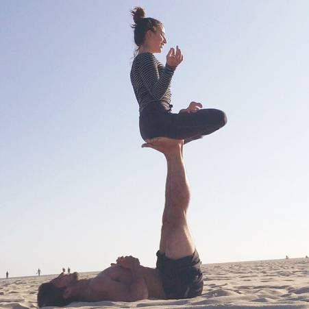 Le yoga en couple