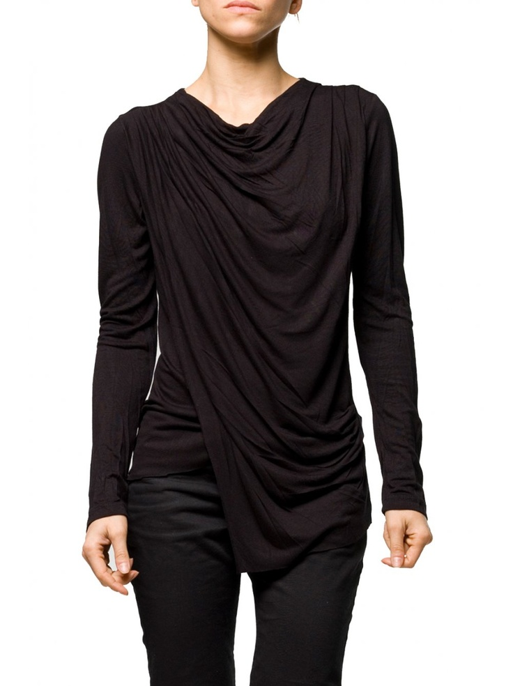 Religion Clothing Top Wandering in Jet Black