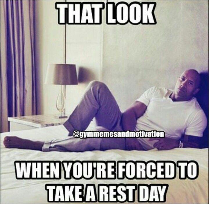 Gym humor...I hate rest days