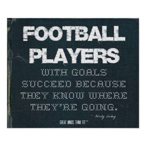Football Motivational Quotes: 1000+ Images About Football Posters On Pinterest