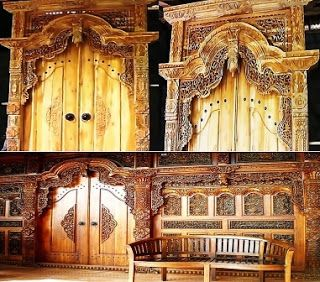 A high quality of woodcraft from Jepara, Central Java, Indonesia