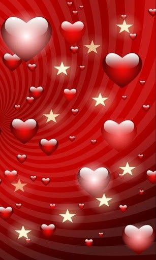 """""""Hearts and Stars Glittering"""" from www.appszoom.com Also found on https://www.pinterest.com/mombhm/heart-gallery/"""
