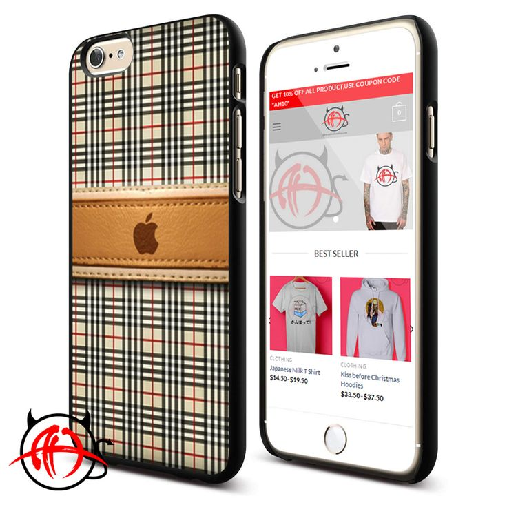 Apple Burberry Pattern Phone Cases Trend  Price : $13.50 Check out our brand new !!