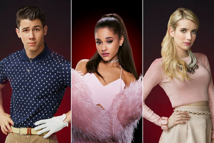 Nick Jonas, Ariana Grande, and More Give Us Chills in 'Scream Queens' Cast Photos -  http://www.ryanseacrest.com/2015/07/02/nick-jonas-ariana-grande-and-more-give-us-chills-in-scream-queens-cast-photos/