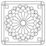 Mandala de primavera: Mandala Infantil, Colorear Mandala, The Mandala, Mandala De