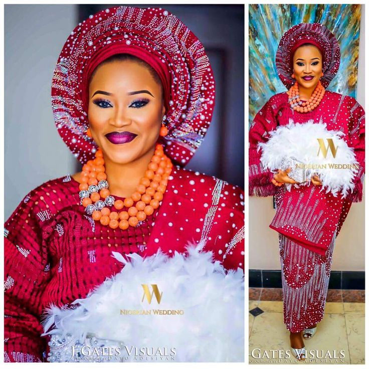 Traditional Yoruba Wedding Attire                              …