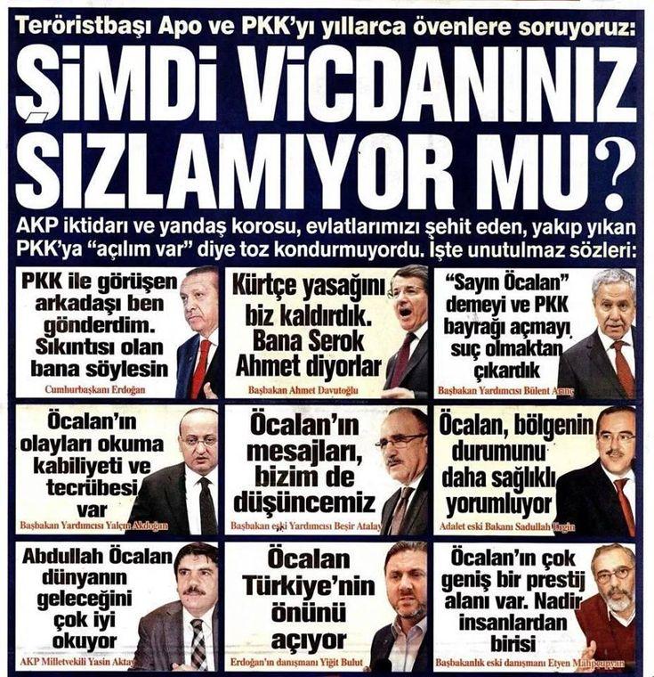 """Erdoğan:""""Paralel yapı ile terör örgütü işbirliği içinde"""" diyerek kendini Paralel ilan etti! Delil isteyenlere gelsin"""