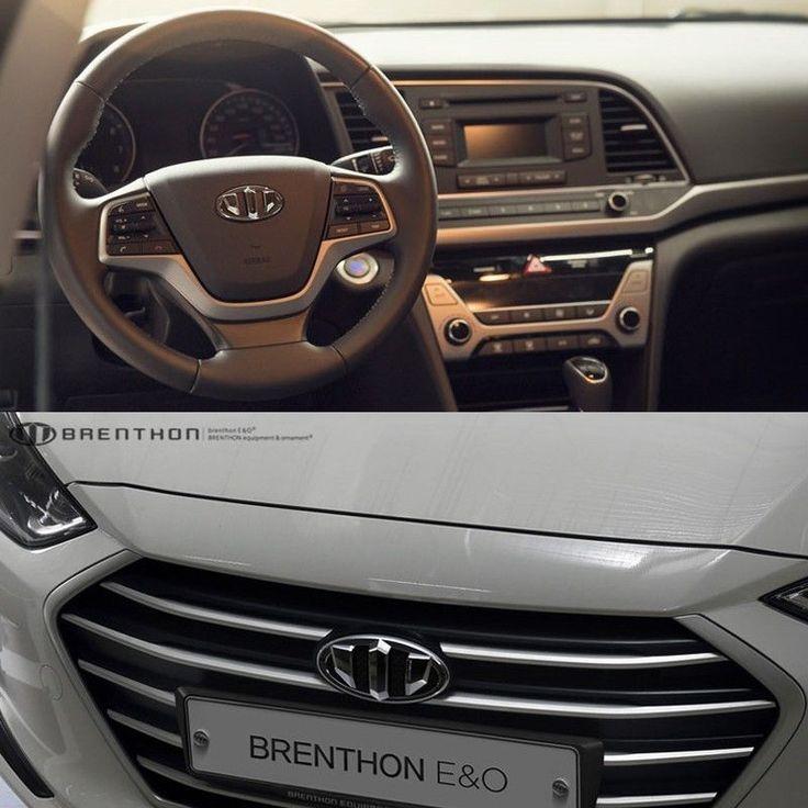 BRENTHON Horn Cap Front & Rear New Emblems 3pcs BEH-H67 for Hyundai Elantra 2016 #BRENTHON
