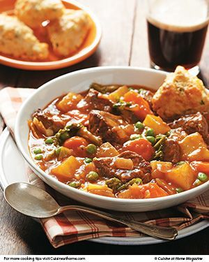 Irish Stew - Whether you have the luck of the Irish or not, you won't run into trouble preparing this one-pot dinner. All about the meat, onions, and potatoes, it's hearty home-cooked food at its finest