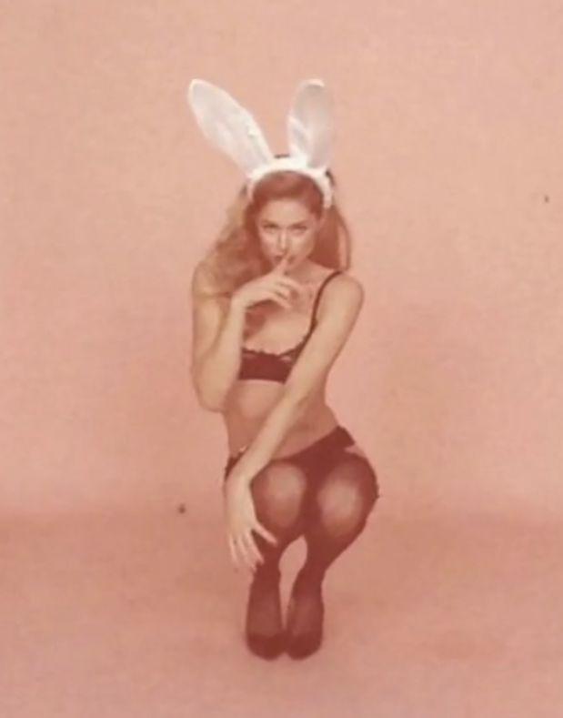 naked amateur easter bunny