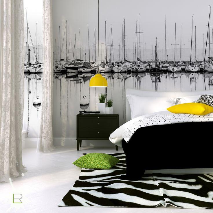 York Bedroom Wallpaper