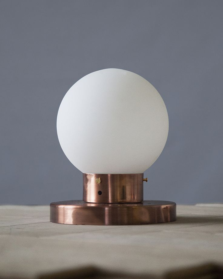Handle Studio | Copper lamp 160х160х200 mm, lamp E27