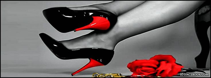 Red+Black+and+White+Photography | High Heels Timeline Cover For Girls | High Heels Covers| High Heels ...