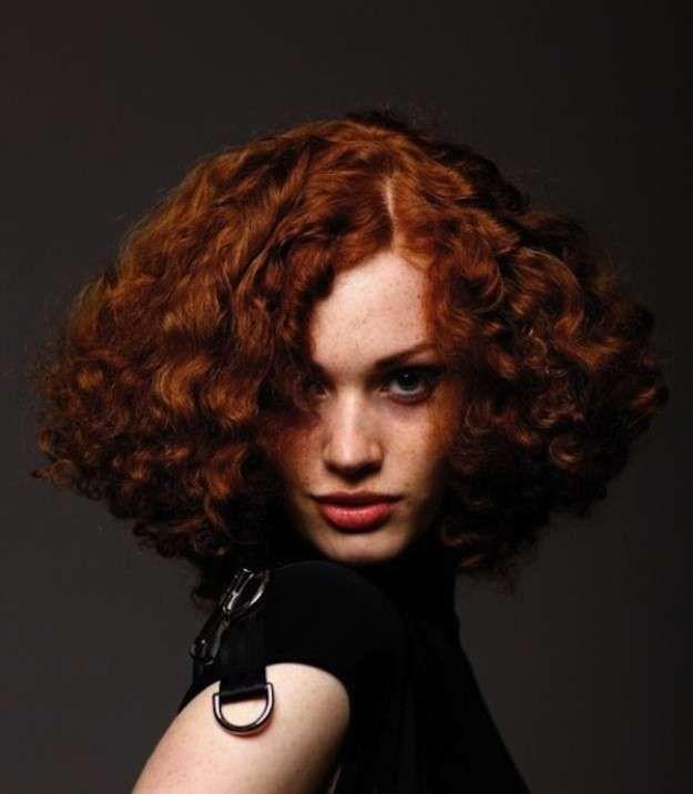todos los cortes de pelo corto rizado para el otoo fotos de los looks