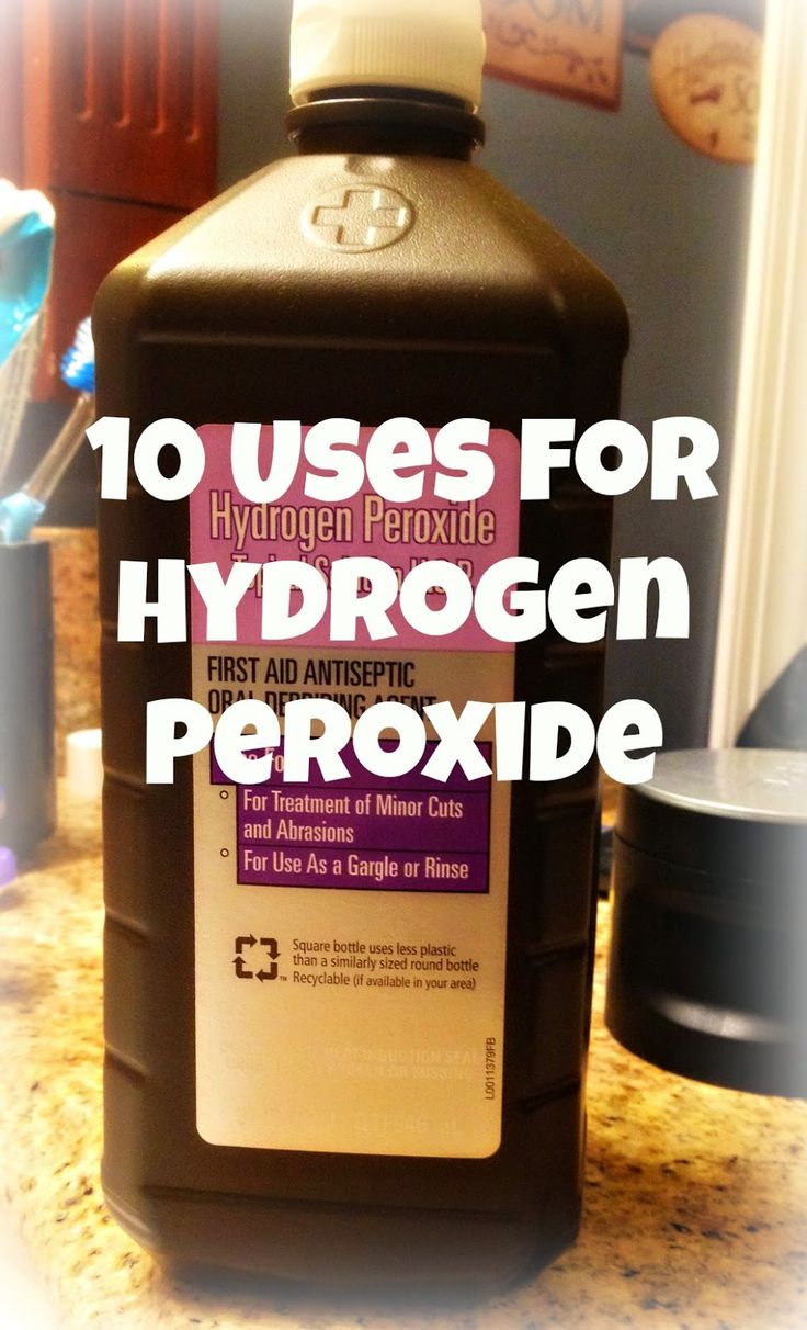 38 Best Images About Uses For Hydrogen Peroxide On