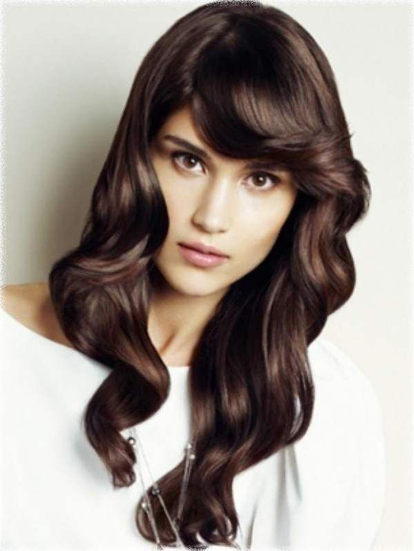 Morbide onde per lunghi capelli castani.  #capellilunghi #Longhair #hairstyles #taglicapelli2014  http://www.hairstylesins.com/8409/long-hair-color-ideas-2014/#.U0ZeQeZ_uAE