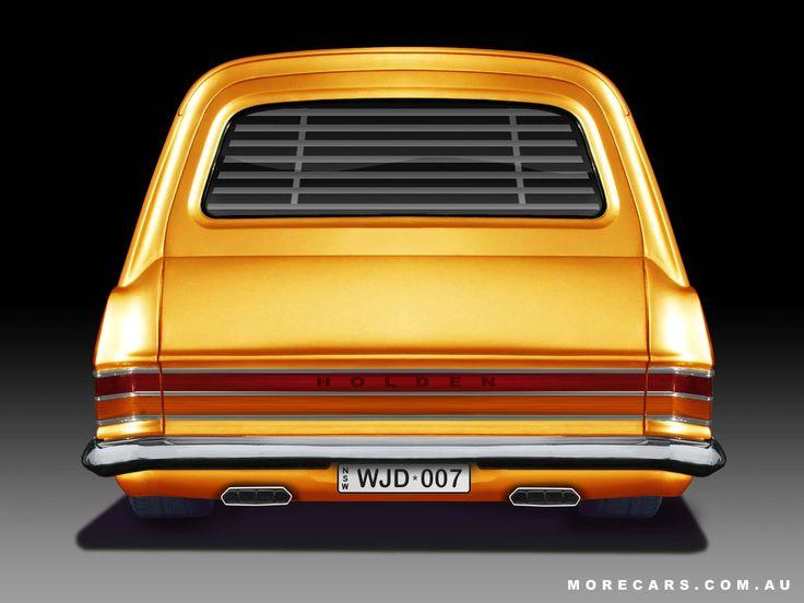 ◆ Visit MACHINE Shop Café... ◆ ~ Aussie Custom Cars & Bikes ~ (Low 1966 Holden HR Panel Van)