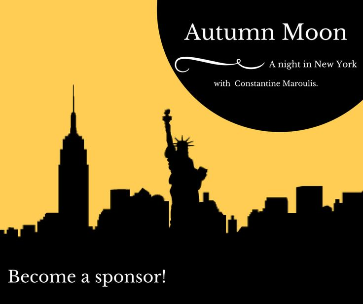 Mark your calendars for Friday, September 29 as the Paramount Center for the Arts presents Autumn Moon: A Night in New York featuring Constantine Maroulis. Interested in becoming a sponsor for the big night? Contact contact Sara Erickson: 320-257-3130, serickson@paramountarts.org for sponsorship information.