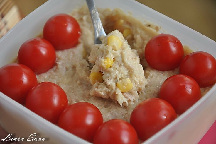 Salata de ton cu maioneza din telina