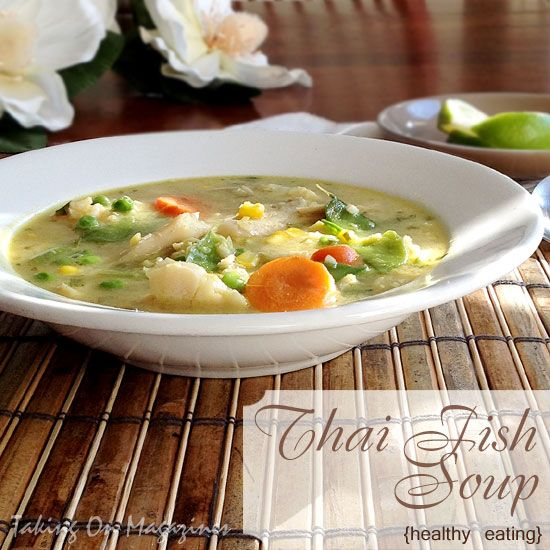 Thai fish soup taking on magazines www for Thai fish soup