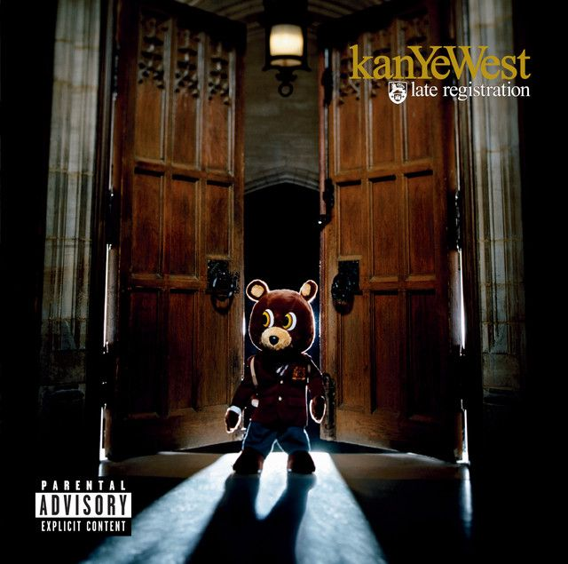 Late Registration By Kanye West On Spotify In 2020 Late Registration Kanye West Album Cover